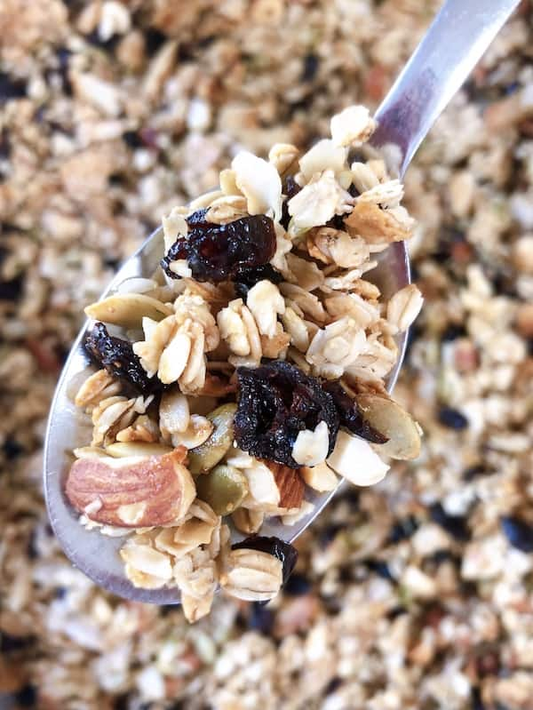 Things to add to homemade granola