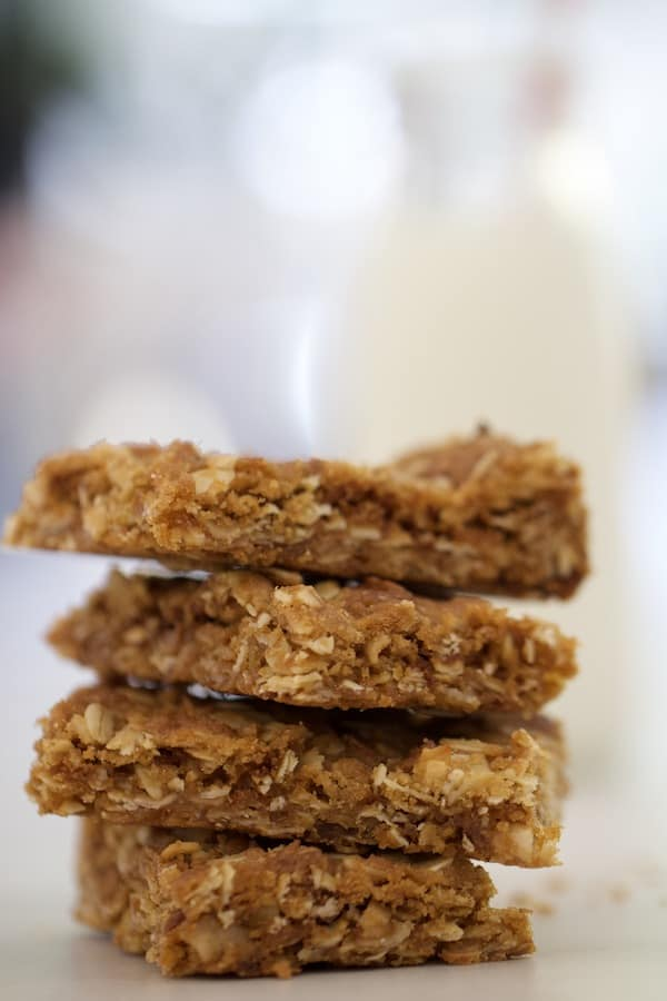 Anzac slice stacked