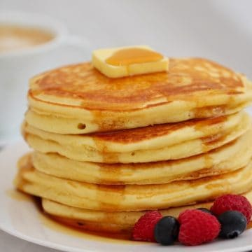 Fluffy Pancakes Thermomix