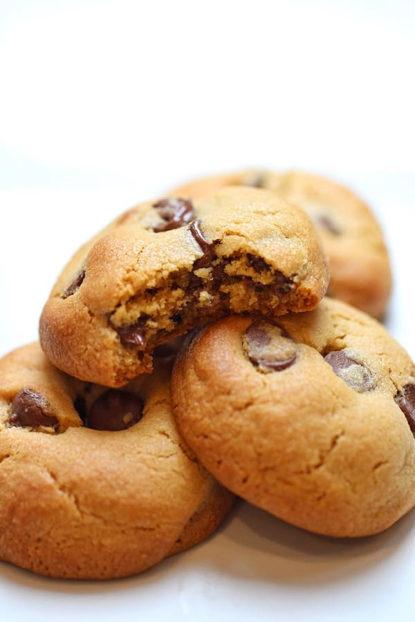 Peanut Butter Chocolate Chip Cookies Mama Loves To Cook