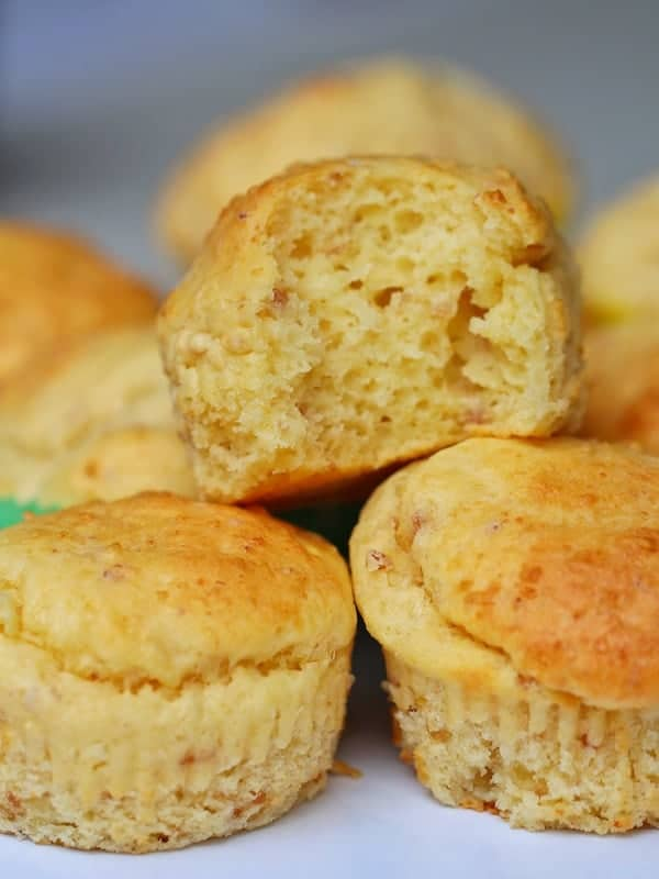 Cheese and bacon muffins recipe