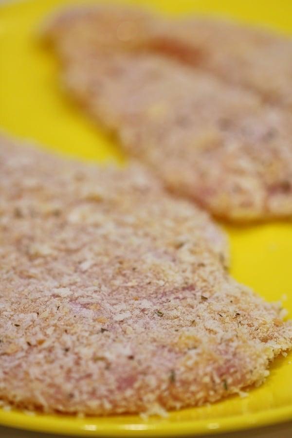 chicken schnitzel panko crumbed