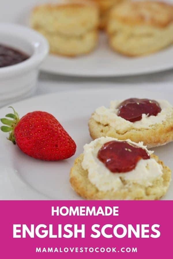 Homemade english scones recipe