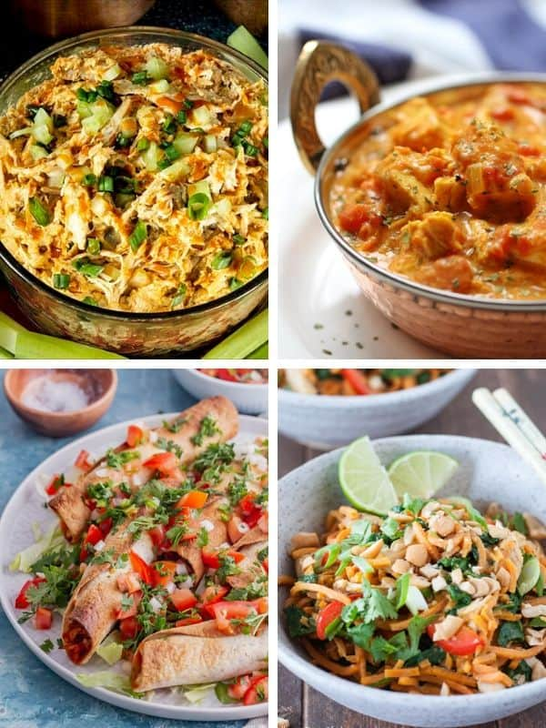 Leftover Chicken dishes