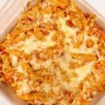 Leftover Chicken Pasta Bake