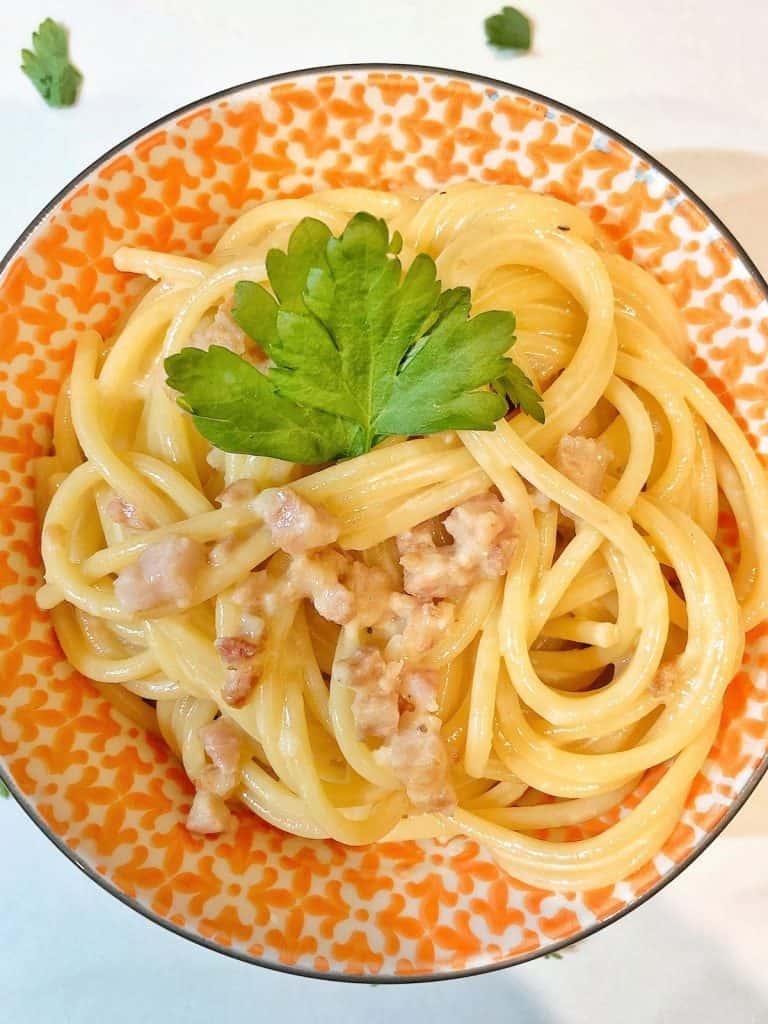 spaghetti alfredo