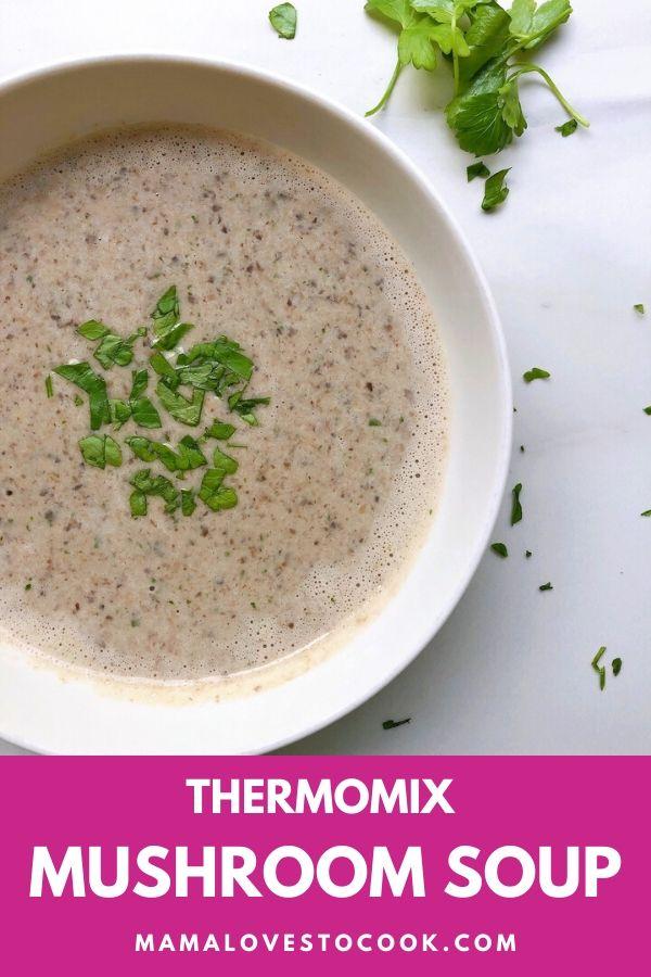 Mushrooms Soup Pinterest