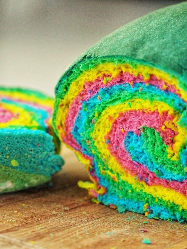 Rainbow Bread loaf