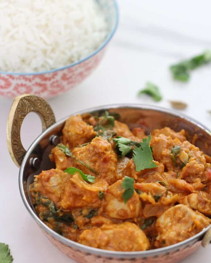 Chicken and pumpkin curry