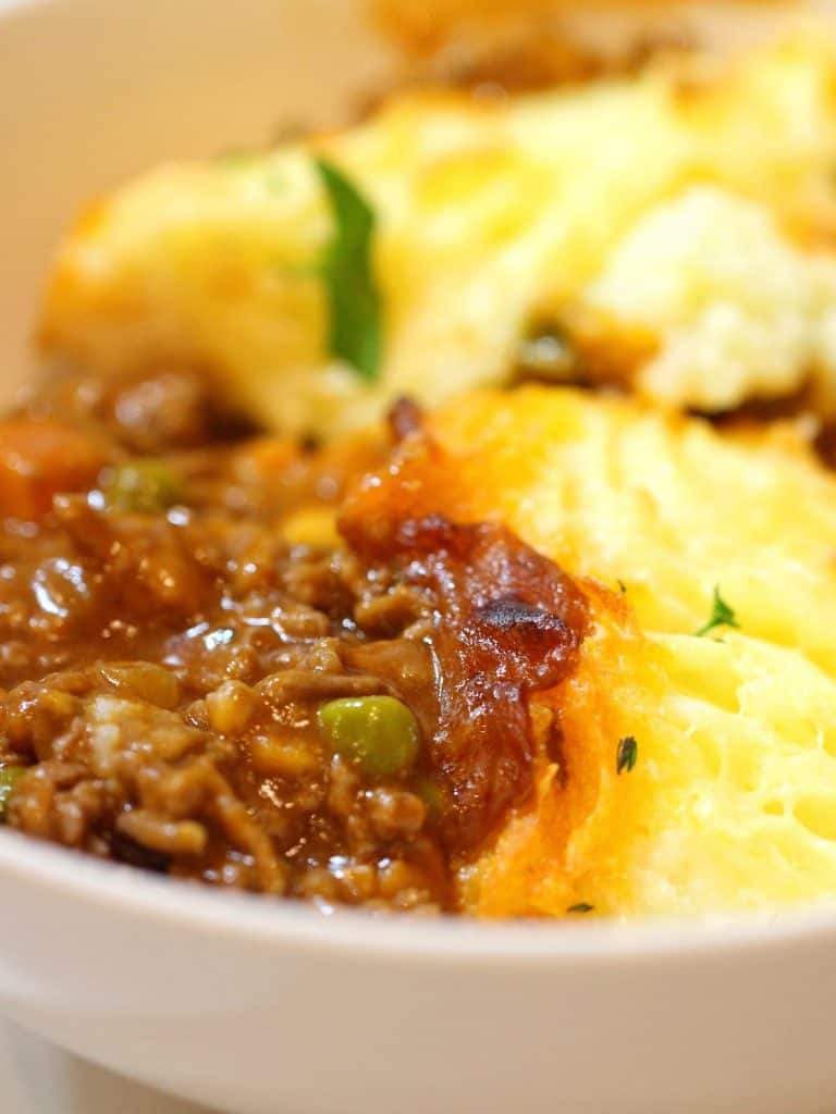 Cottage Pie in a bowl