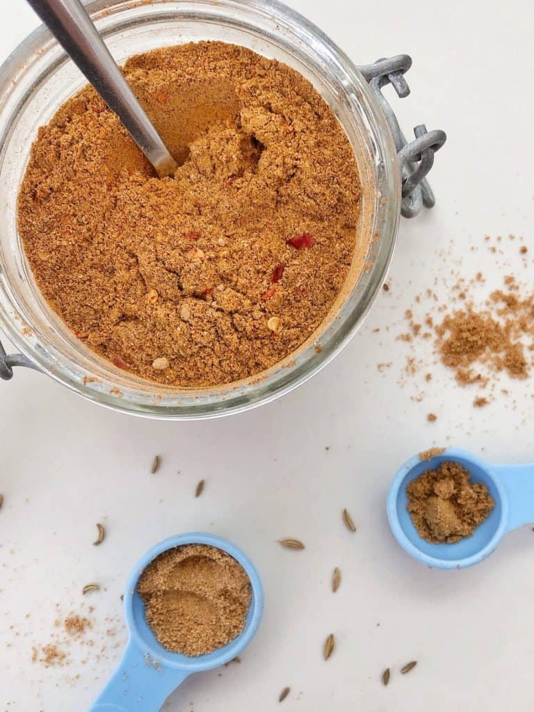 Making a Homemade Curry Spice Mix