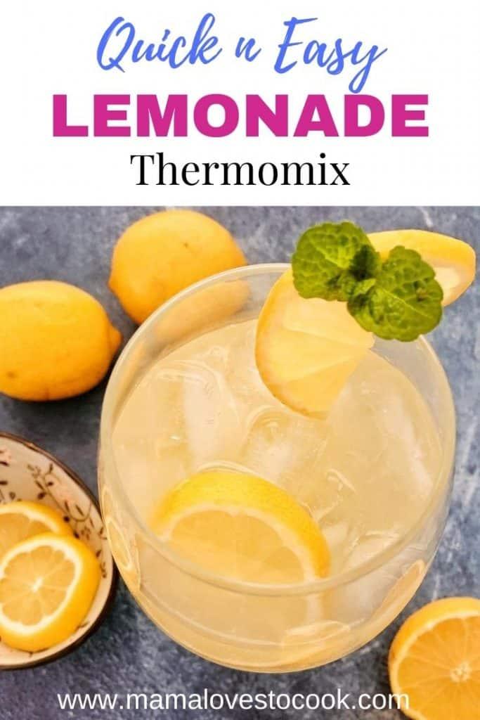 Thermomix Lemonade pin