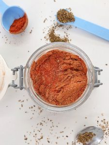 Taco Seasoning ingredients