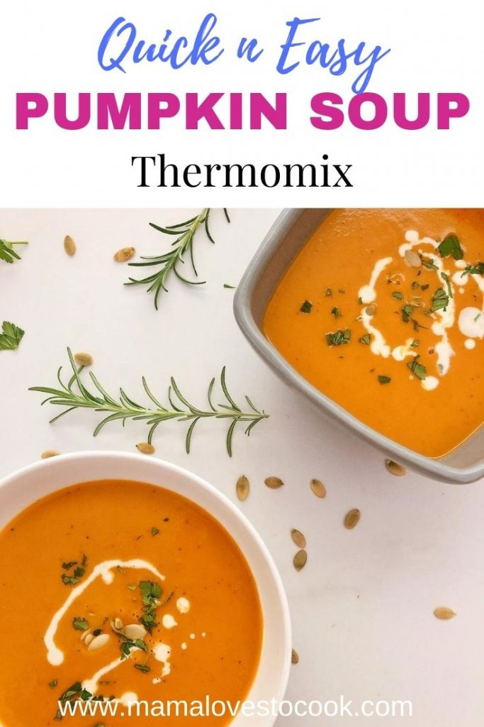 Thermomix Pumpkin Soup pin