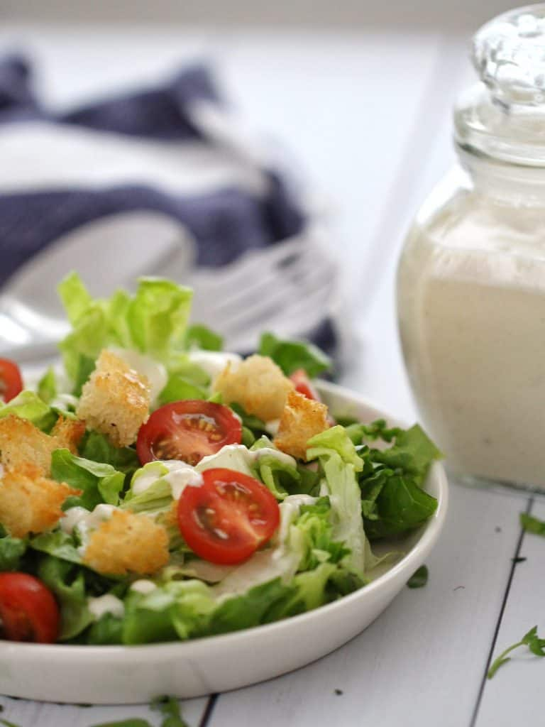 Caesar Salad with Thermomix dressing