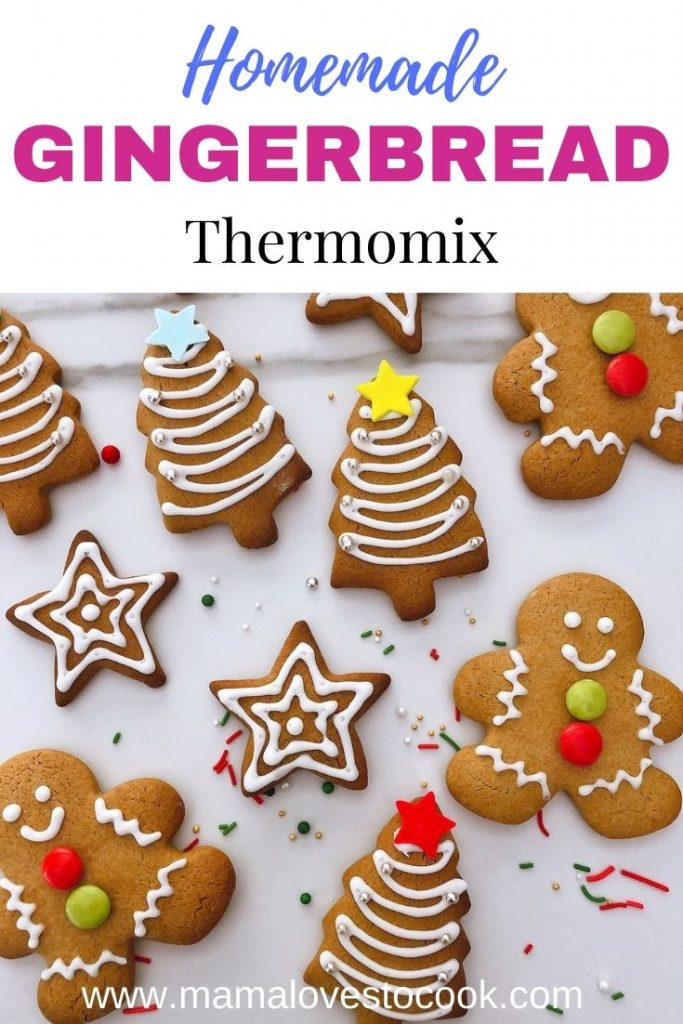 Thermomix Gingerbread pinterest pin