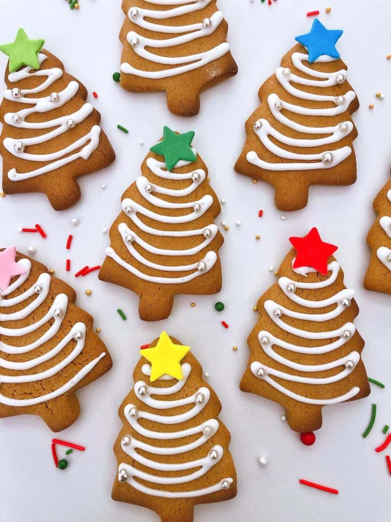 Thermomix Gingerbread cookies Christmas trees