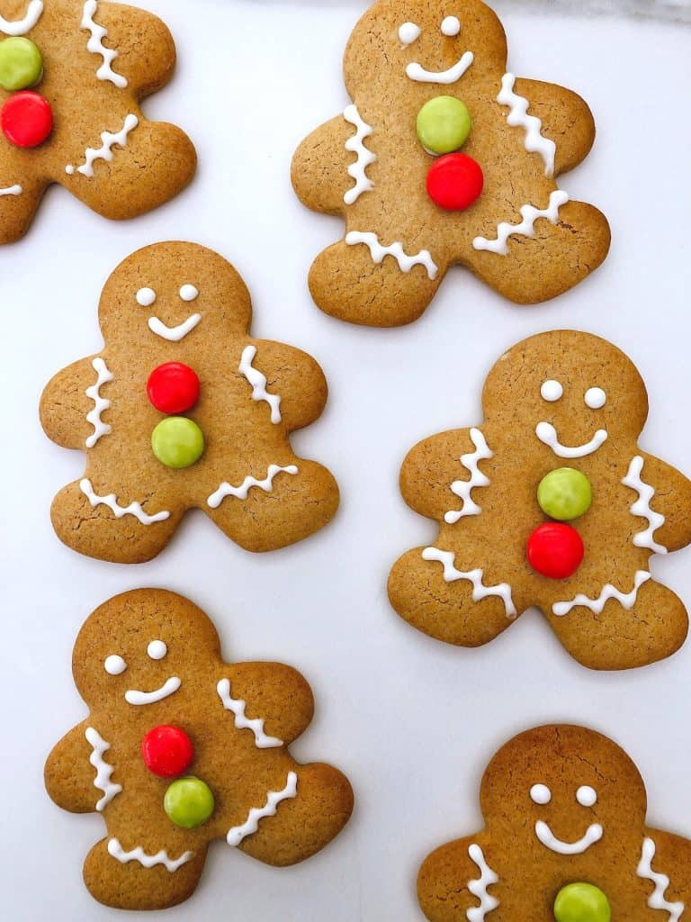 Thermomix gingerbread men