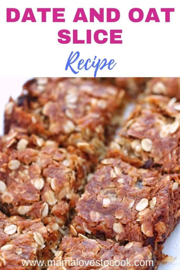 date and oat slice pinterest pin