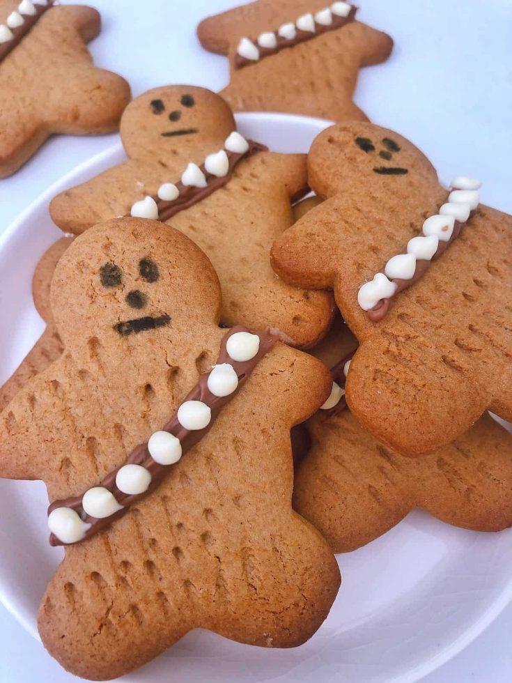 Wookie Cookies on a plate