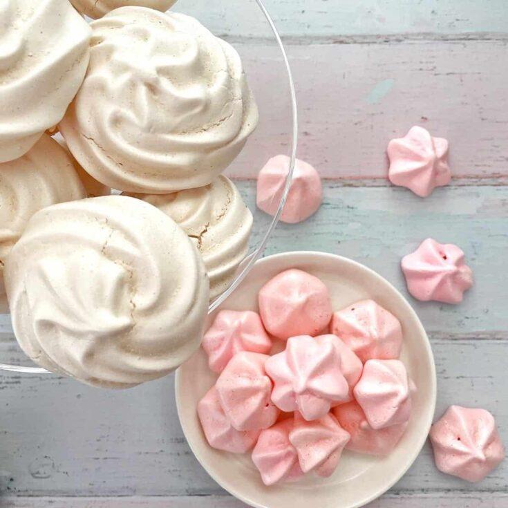 Thermomix meringues and meringue kisses