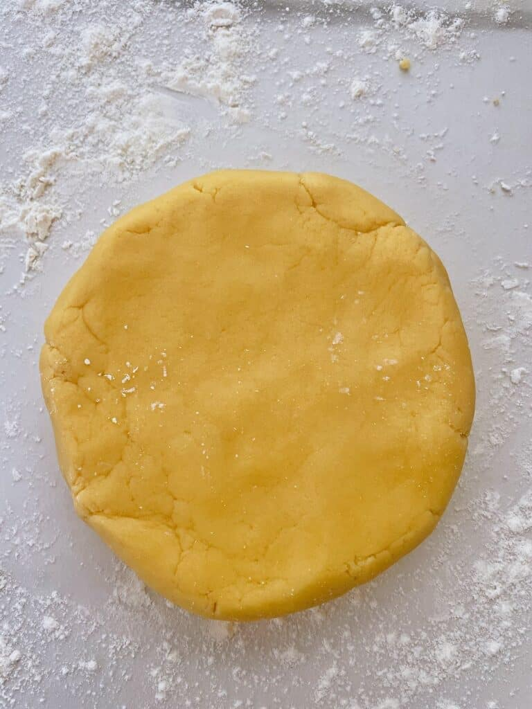 Thermomix pastry circle