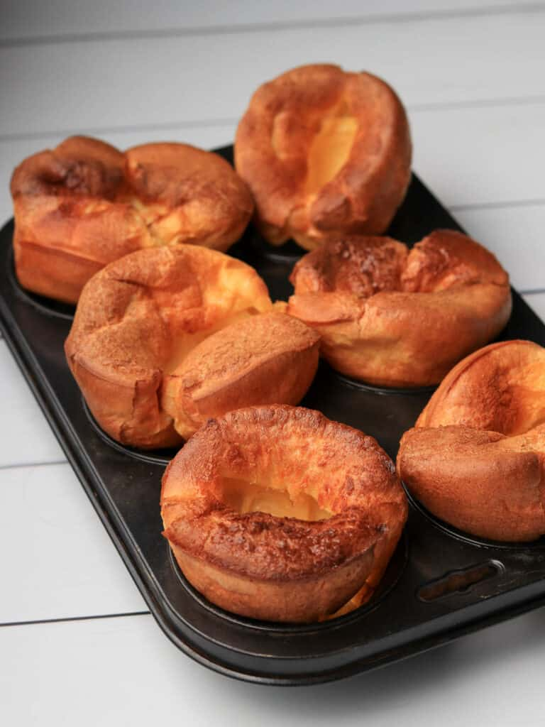 Thermomix Yorkshire Puddings in muffin tray