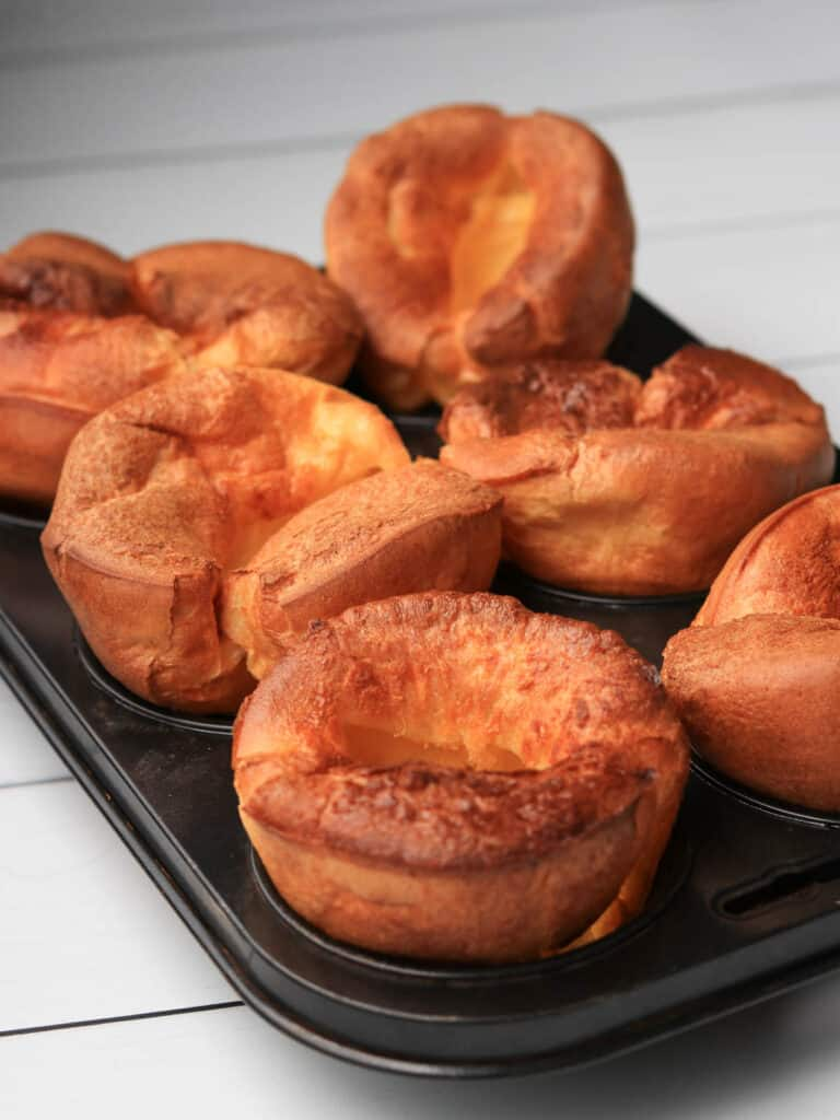 Thermomix Yorkshire Puddings in tray