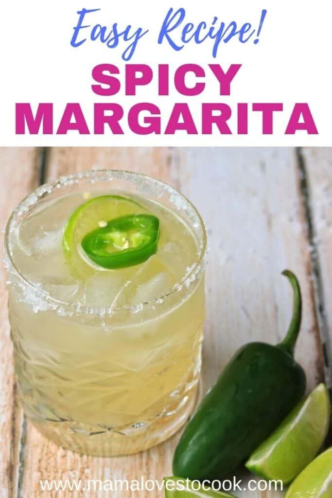 Spicy Margarita pinterest pin